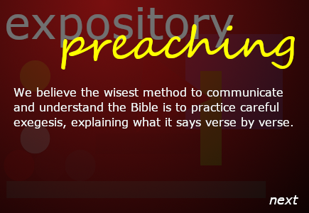 Providence Expository Preaching