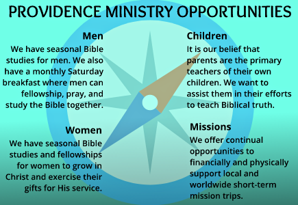 Providence Ministry Opportunities